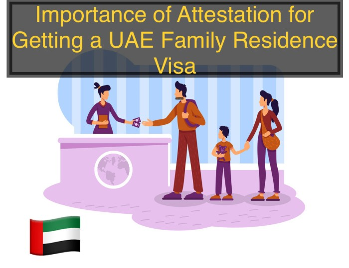 What is the Importance of Attestation for Getting a UAE Family Residence Visa?